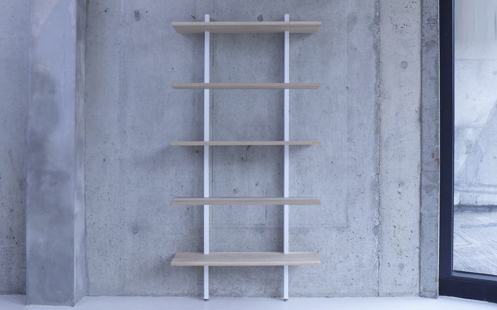Crosscut shelving - tall