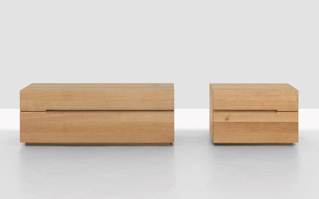 Nightstand bedside drawers