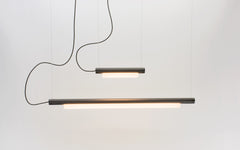 Pipeline linear pendant light