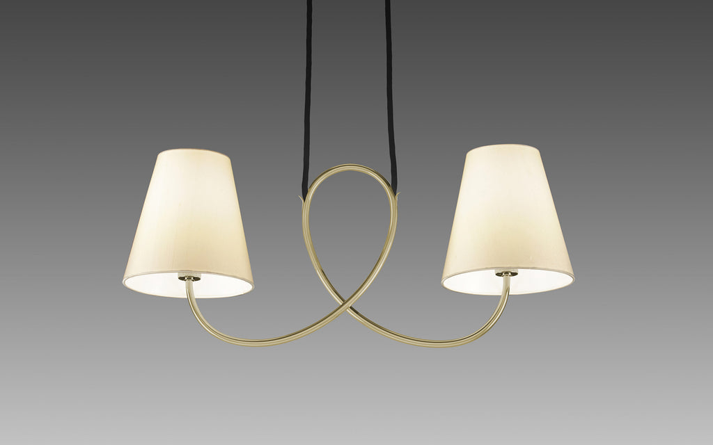 Posthorn pendant light