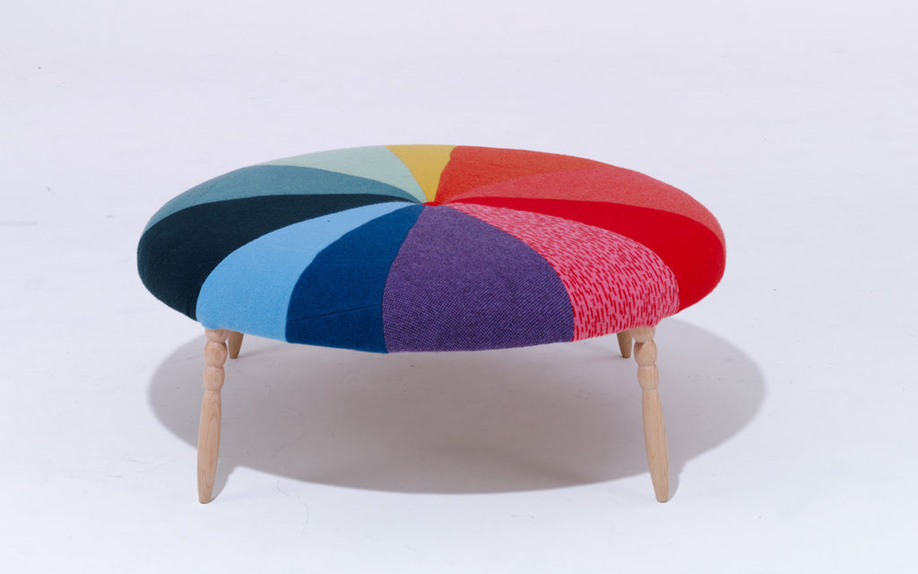 Piechart bench