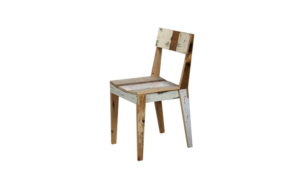 Scrapwood chair