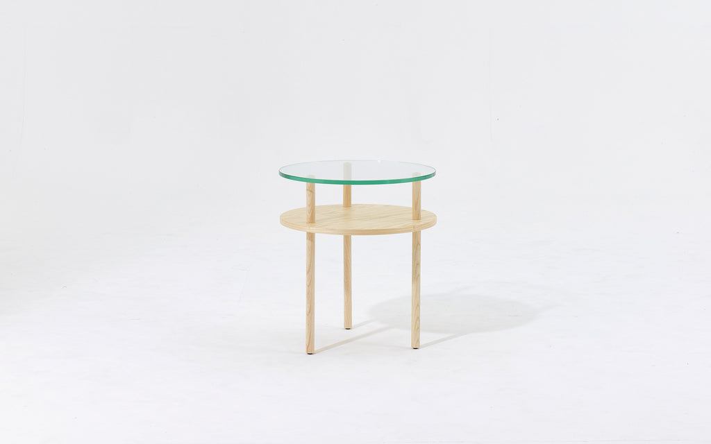 Unison round side table