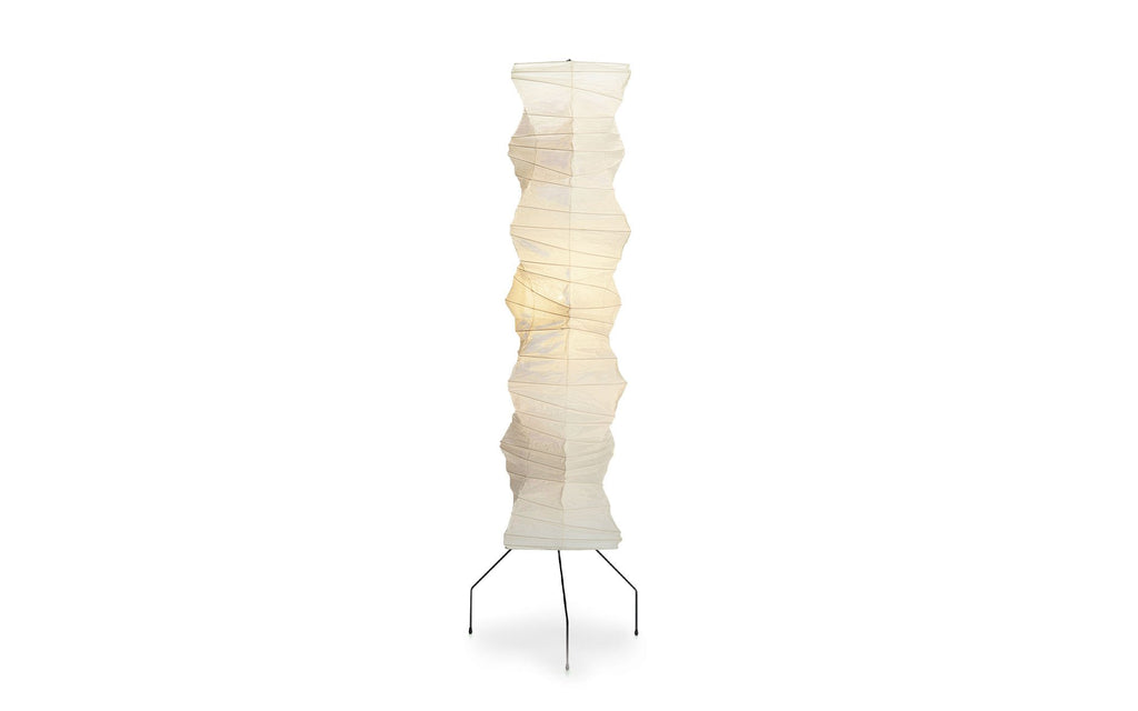 Akari pillar floor light