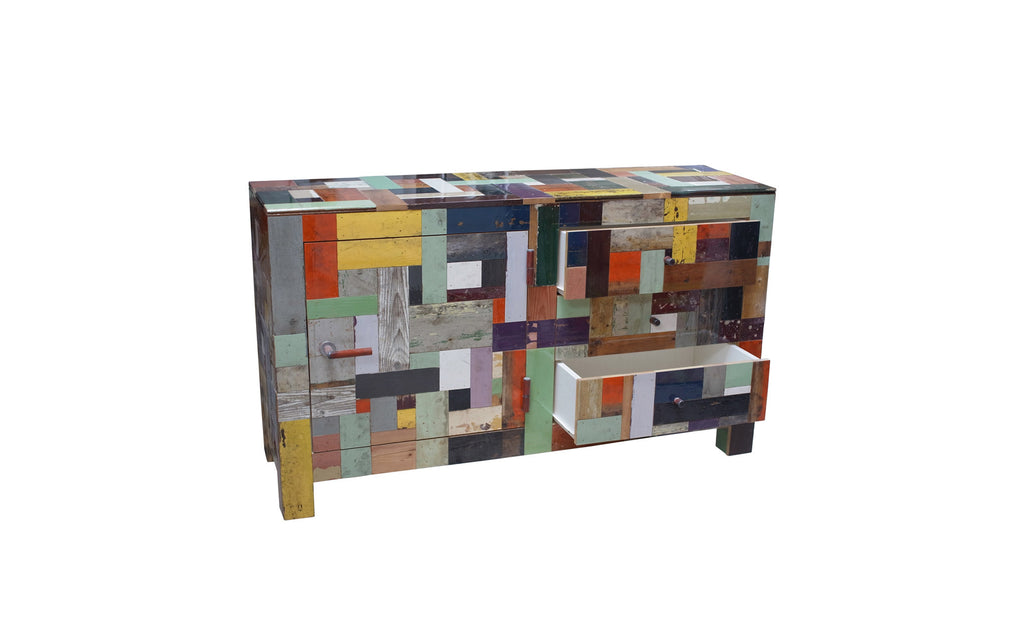 Scrapwood sideboard