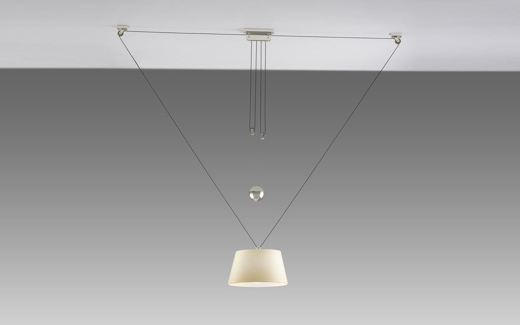 Zug adjustable pendant light