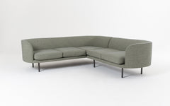 Continuous sectional sofa