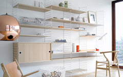 String shelves