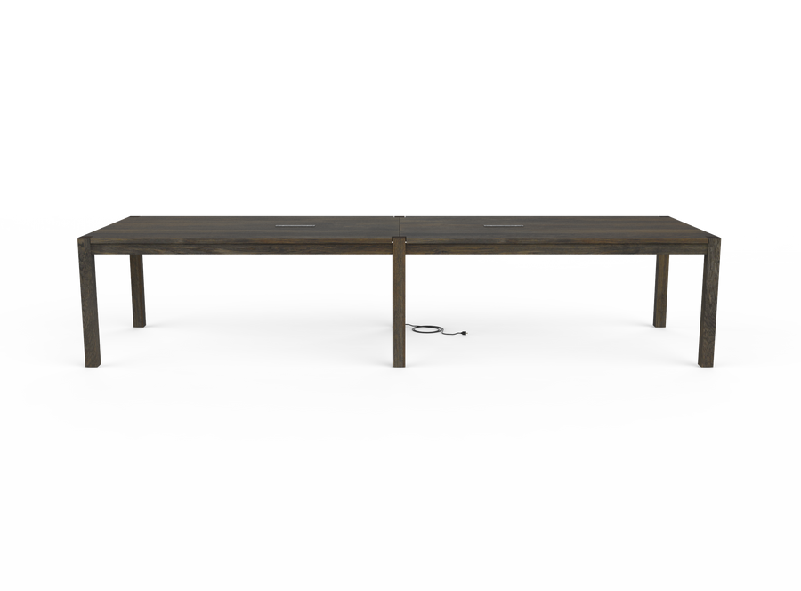 caption: Side view of Parsons Conference Table (shown at 144