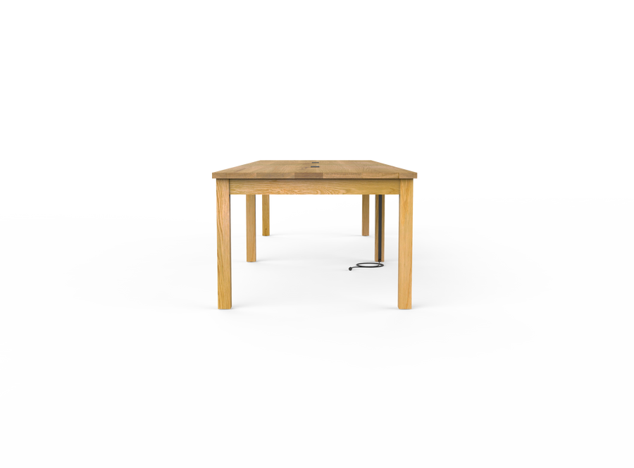 caption: End view of Square Conference Table (shown at 144
