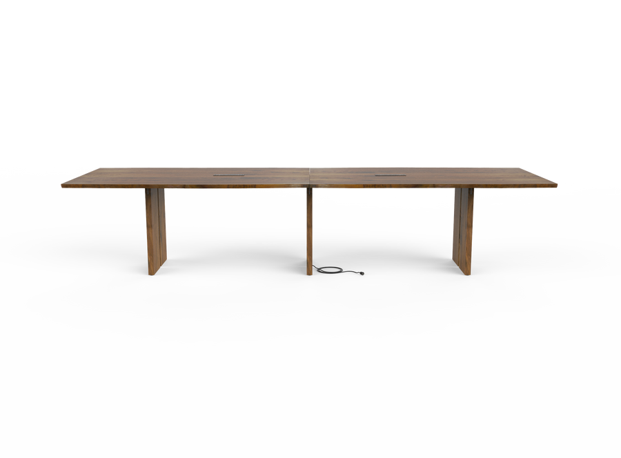 caption: Side view of Together Conference Table (shown at 144