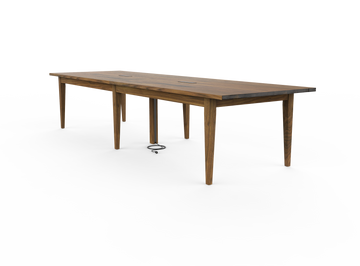 Tapered Shaker Conference Table