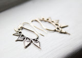 Brass Wing Earrings