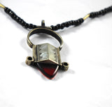 Tuareg Red In-Gall Necklace.