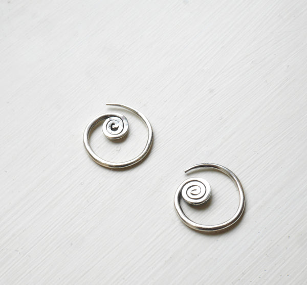 Real silver spiral unique earnings