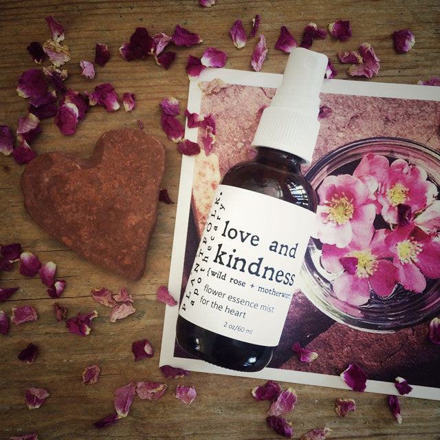 LOVE AND KINDNESS <br>MIST FOR THE HEART<br>[ wild rose + motherwort ]