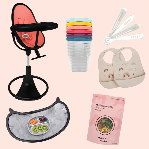 things you need for baby's first feeding
