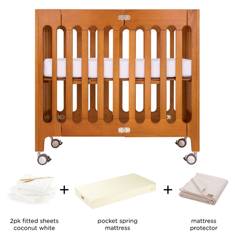 alma mini crib bundle