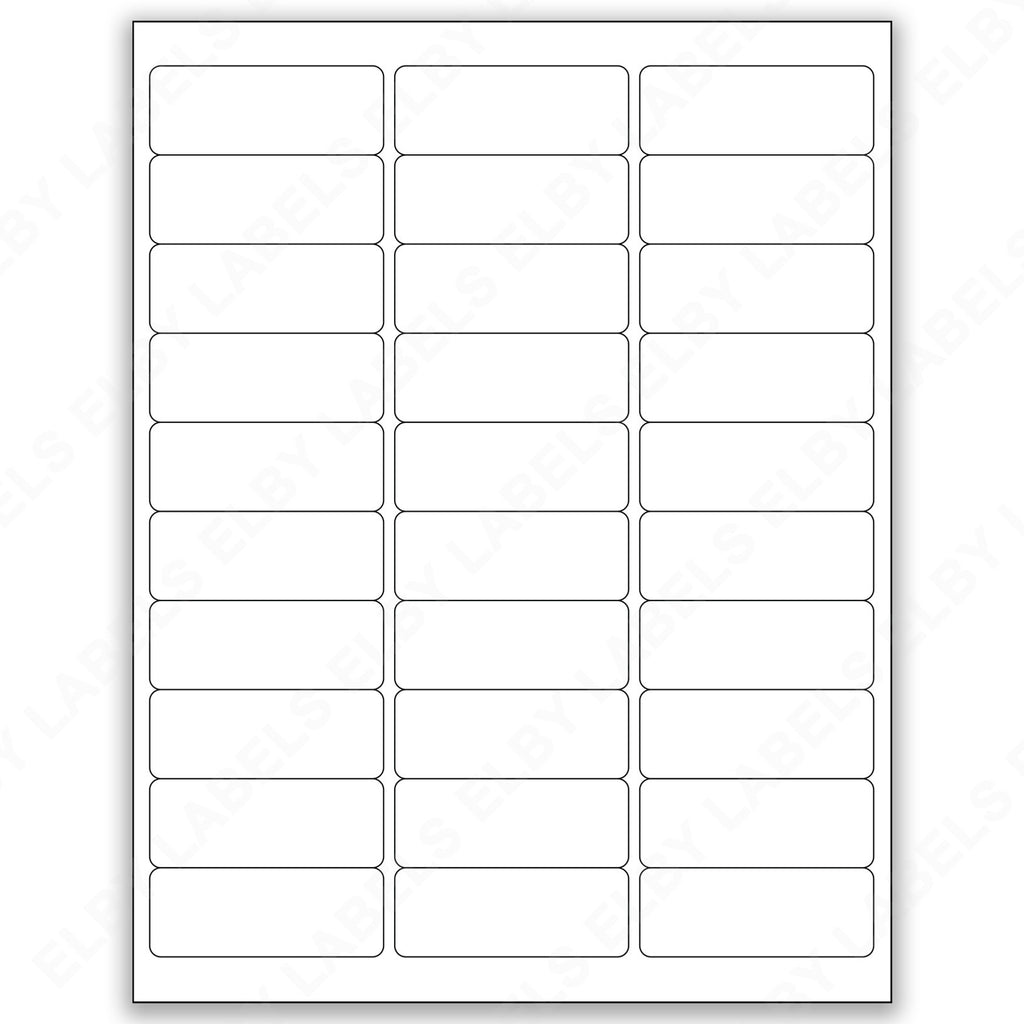 AVERY® Compatible Address Labels 5160 - 5260 - 5960 – Elby