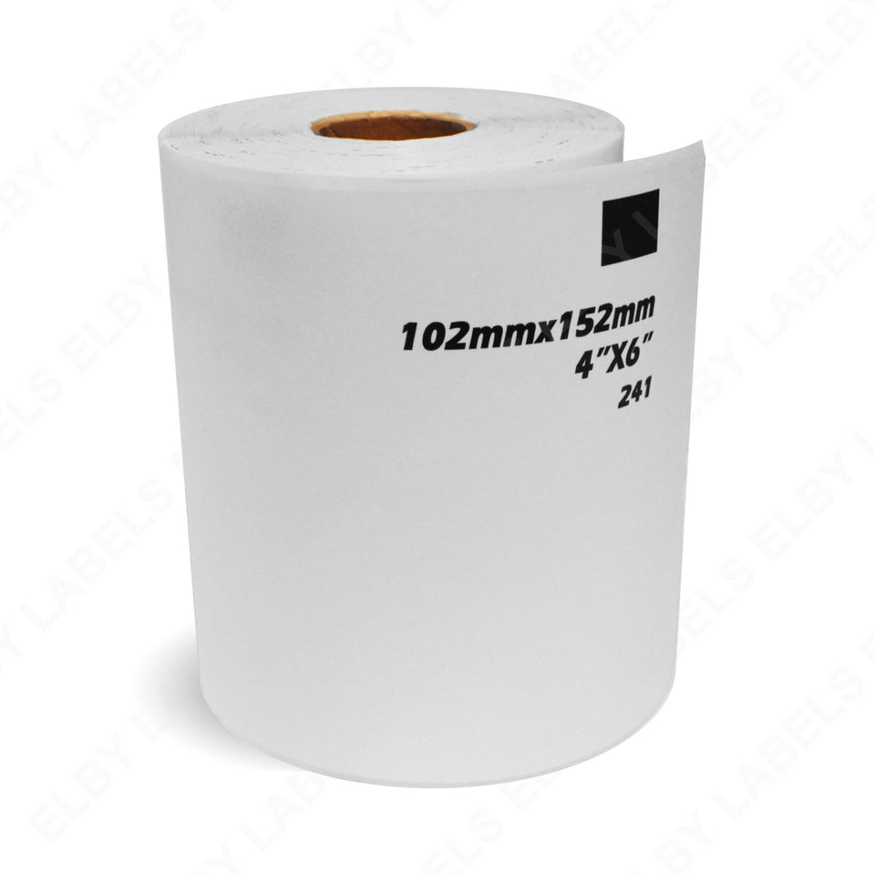 Dk1241 Brother Compatible Shipping Labels Roll Only Elby Labels