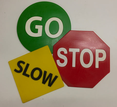Poly Traffic Signs Activity & Debrief Set