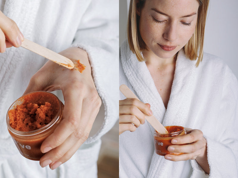 FIVE Body Scrub: Zuckerpeeling mit Kokosöl| Five Skincare