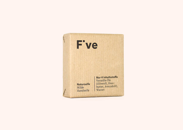 FIVE Naturseife: milde Seife | Five Skincare