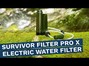 SURVIVOR FILTER™ PRO X Electric Water Filter