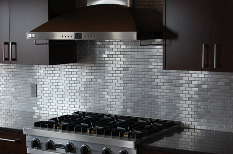 Installing Stainless Steel Tiles Is Pretty Straight Forward And Not That Different From Other Tile Installations Beyond Tile Highly Recommends You Read