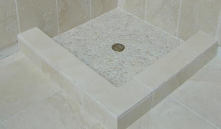 How to Choose A Pebble Tile For A Shower Floor - Beyond Tile