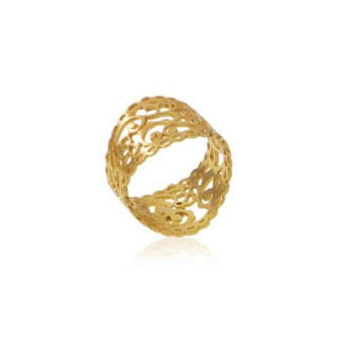 Souldance Ring • Gold Vermeil - Beyond Tile