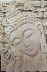Arnapuna Stone Wall Carving - Beyond Tile