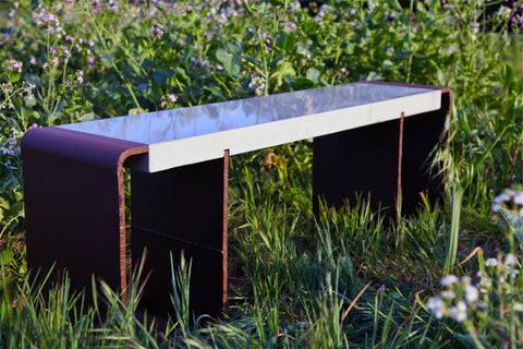 Designer Bench Is Upcycled Functional Art - Beyond Tile