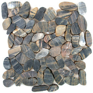 Bengal Sliced Pebble Tile - Beyond Tile  - 1