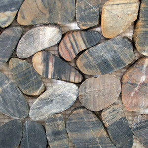 Bengal Sliced Pebble Tile - Beyond Tile  - 2
