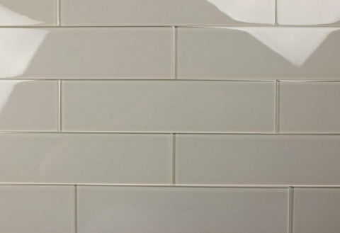 Burlap 3X12 Subway Glass Tile - Beyond Tile  - 1