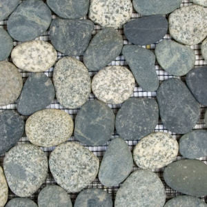 Gray and Black Pebble Tile - Beyond Tile  - 2