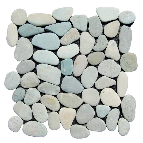 Green Pebble Tile - Beyond Tile  - 1
