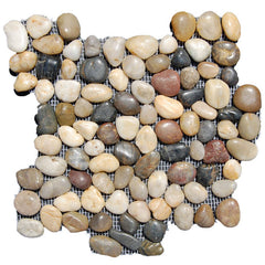 Melange Pebble Tile - Beyond Tile  - 1