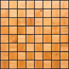 Alder Wood Mosaic Tile - Beyond Tile