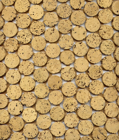 Natural Cork Mosaic Tile - Beyond Tile  - 1