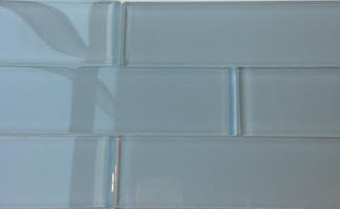 Ocean Grey 2x8 Subway Glass Tile - Beyond Tile  - 1