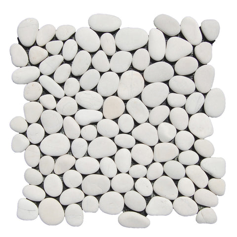 White Pebble Tile - Beyond Tile  - 1