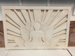 Buddha Sunrise Wall Carving - Beyond Tile