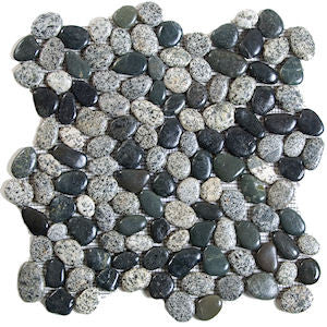 Gray and Black Pebble Tile - Beyond Tile  - 1