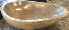 Large Stone Bathroom Sink - Beyond Tile