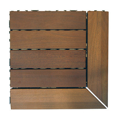 Corner Pieces Wood Deck Tile - Beyond Tile  - 2