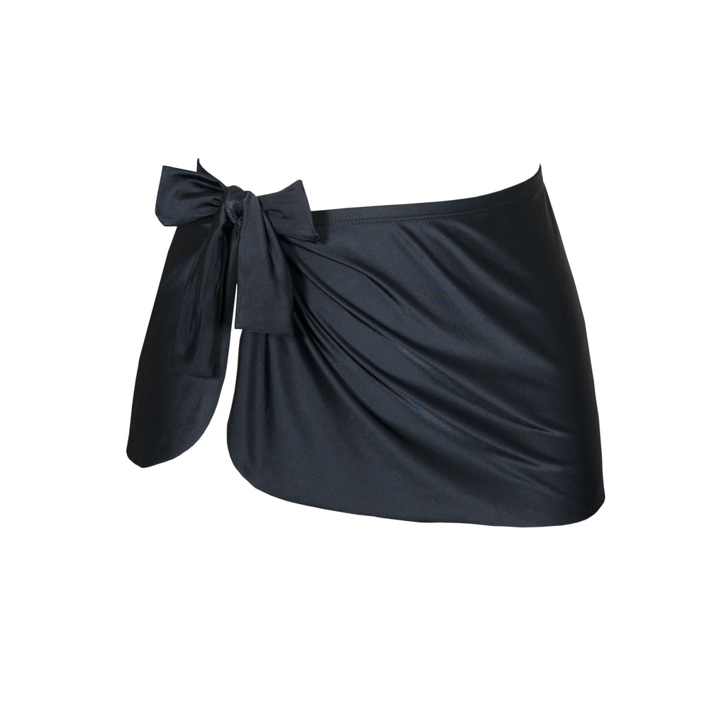 Nancy Sarong Skirt - Black