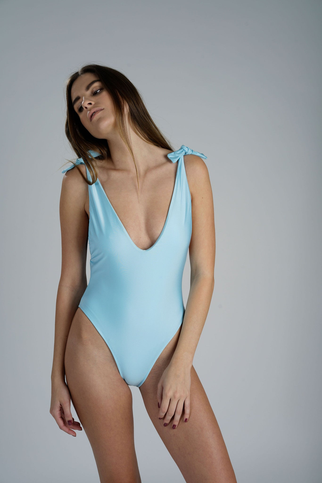 Anderson One Piece Sky Blue Sidway Swim
