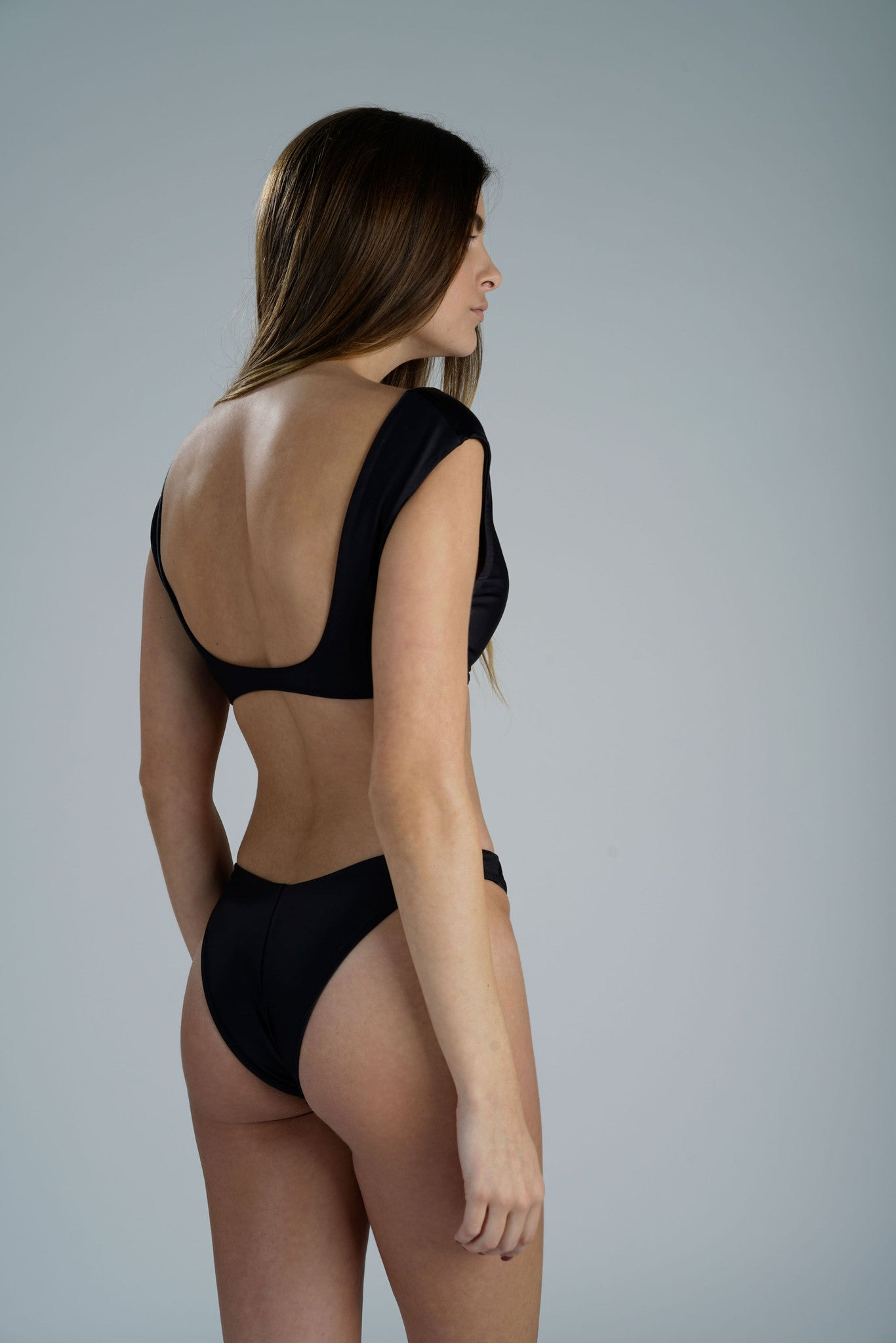 Linda Black Bottom Sidway Swim